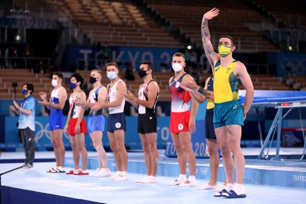 JPN: Gymnastics - Trampoline - Olympics: Day 8