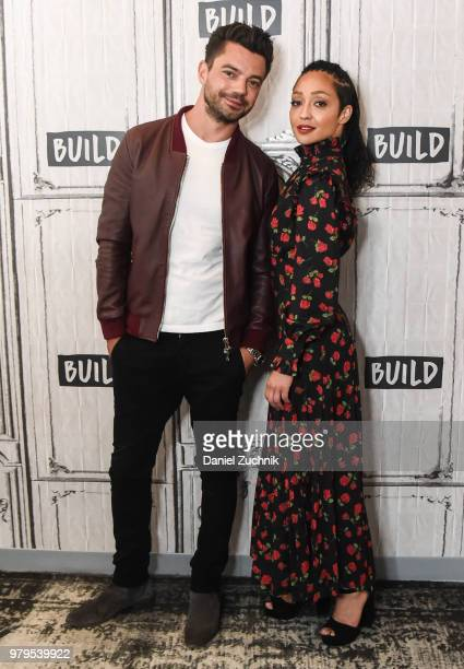 Dominic Cooper and Ruth Negga attend the Build Series to discuss the AMC show 'Preacher' at Build Studio on June 20 2018 in New York City