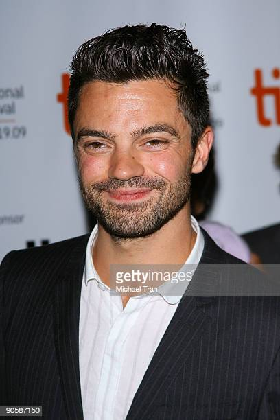 "Dominic Cooper arrives to the ""Jennifer's Body"" premiere during the 2009 Toronto International Film Festival held at the Ryerson Theatre on September..."