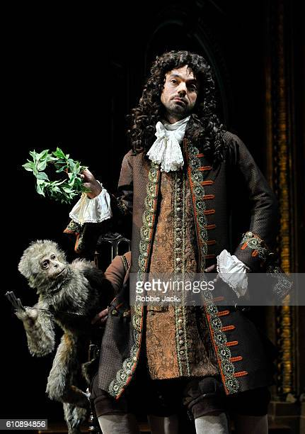 Dominic Cooper as the Earl of Rochester in Stephen Jeffreys' The Libertine directed by Terry Johnson at the Theatre Royal Haymarket on September 26...