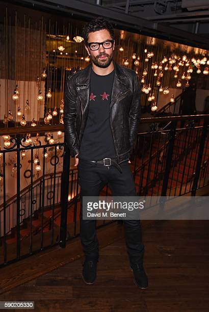 Dominic Cooper attends a Royal Court Theatre 60th anniversary film screening of 'The Libertine' at the Picturehouse Central on August 16 2016 in...