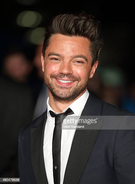 Dominic Cooper attends a screening of The Lady In The Van during the BFI London Film Festival at Odeon Leicester Square on October 13 2015 in London...