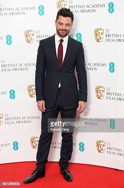 Dominic Cooper attends as the nominations for the EE British Academy Film Awards are announced at BAFTA on January 10 2017 in London United Kingdom