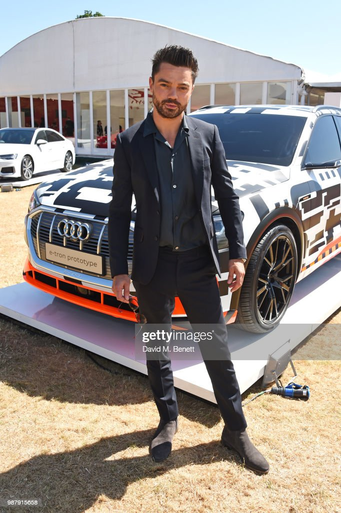 Dominic Cooper attends the Audi Polo Challenge at Coworth Park Polo Club on June 30, 2018 in Ascot, England.