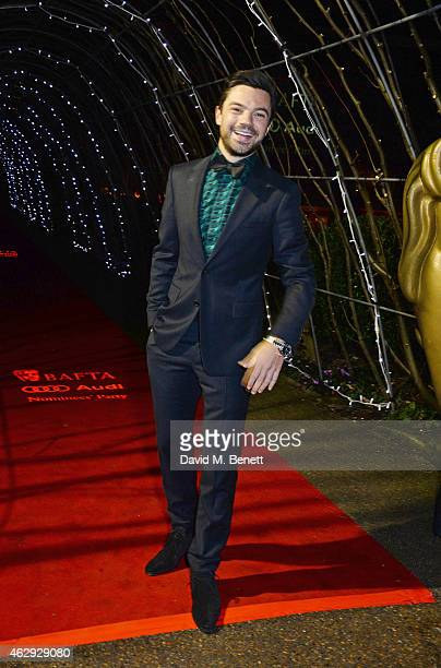 Dominic Cooper attends the EE British Academy Awards nominees party at Kensington Palace on February 7 2015 in London England