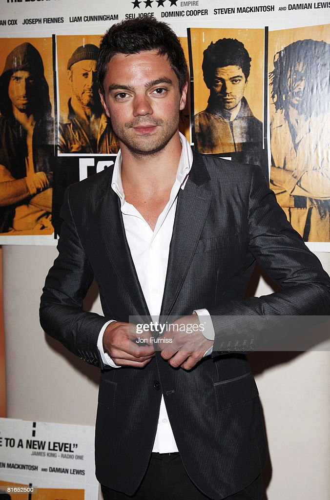 Dominic Cooper Attends The Escapist Premiere At Apollo West End Cinema On June 10 2008