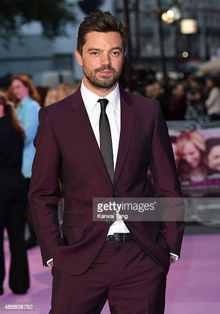 Dominic Cooper attends the European Premiere of 'Miss You Already' at Vue West End on September 17 2015 in London England