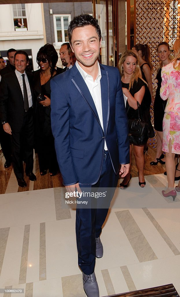 Dominic Cooper attends the launch of the Louis Vuitton Bond Street Maison on May 25, 2010 in London, England.