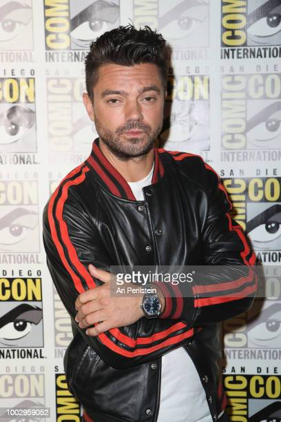 Dominic Cooper attends the 'Preacher' autograph signing and panel with AMC during ComicCon International 2018 at San Diego Convention Center on July...