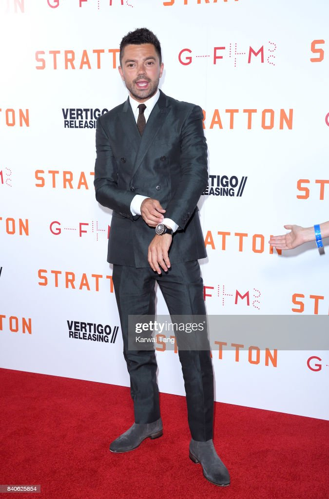 Dominic Cooper attends the 'Stratton' UK Premiere at the Vue West End on August 29, 2017 in London, England.