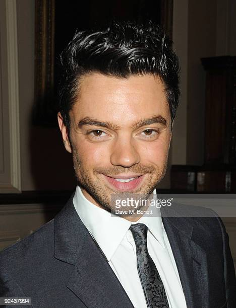Dominic Cooper attends The Times BFI 53rd London Film Festival awards ceremony at Inner Temple on October 28 2009 in London England