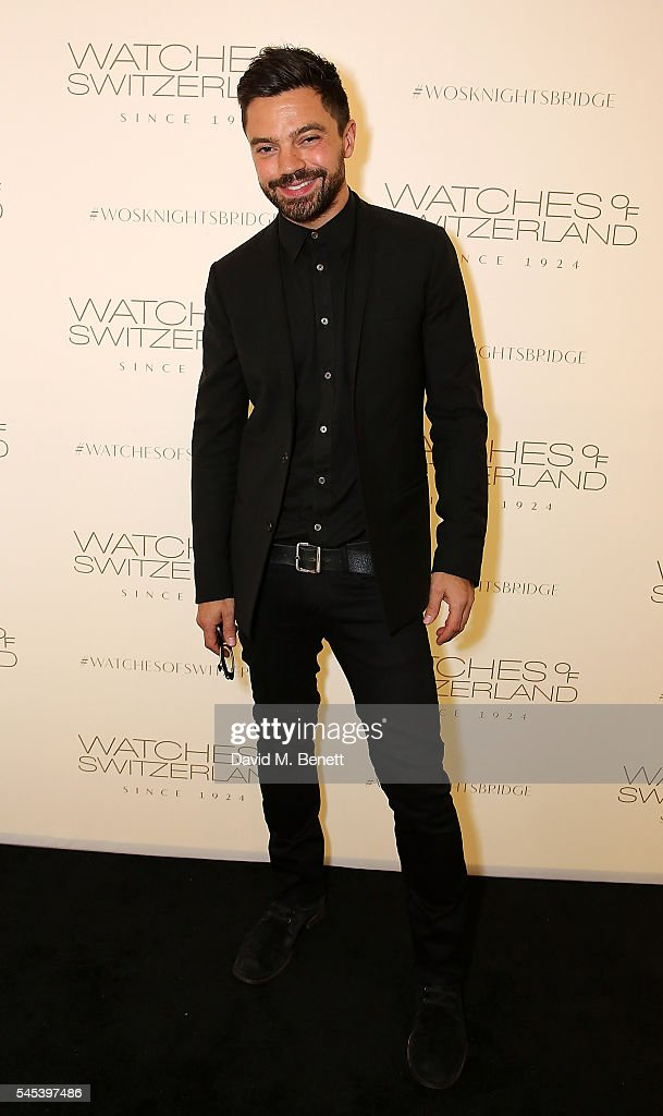 Dominic Cooper attends Watches Of Switzerland Knightsbridge Launch on July 7, 2016 in London, England.