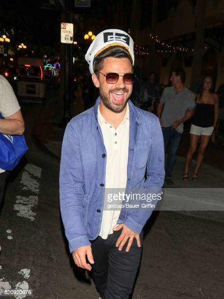 Dominic Cooper is seen on July 21 2017 in San Diego California