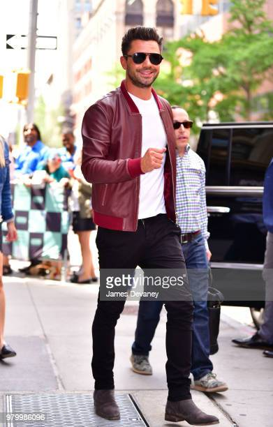 Dominic Cooper leaves the Build Series at Build Studio on June 20 2018 in New York City