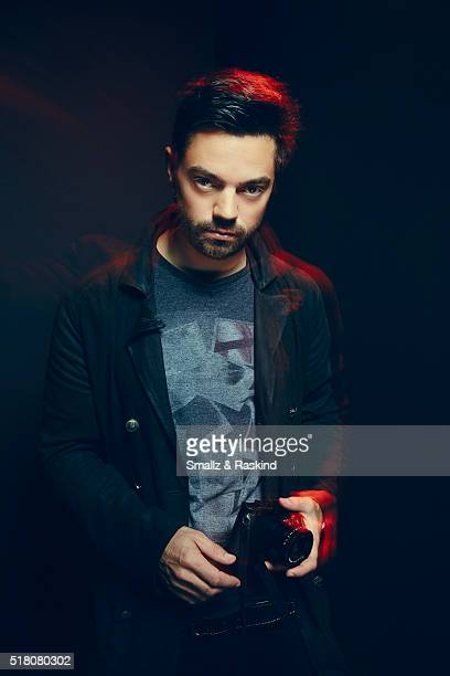 Dominic Cooper poses for a portrait in the Getty Images SXSW Portrait Studio Powered By Samsung on March 13 2016 in Austin Texas
