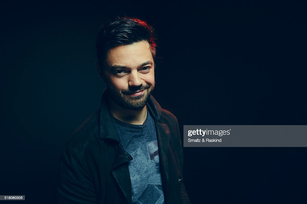 Dominic Cooper poses for a portrait in the Getty Images SXSW Portrait Studio Powered By Samsung on March 13, 2016 in Austin, Texas.
