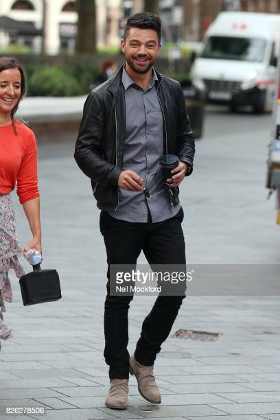 Dominic Cooper seen at Capital Radio on August 4 2017 in London England