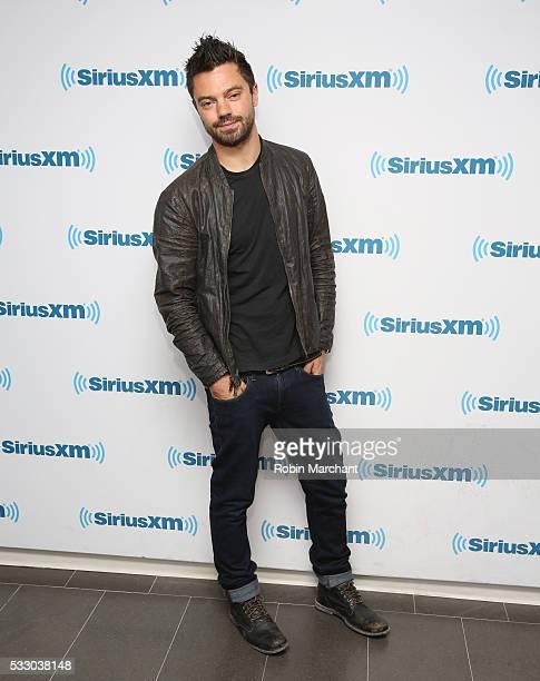 Dominic Cooper visits SiriusXM Studios on May 20 2016 in New York New York