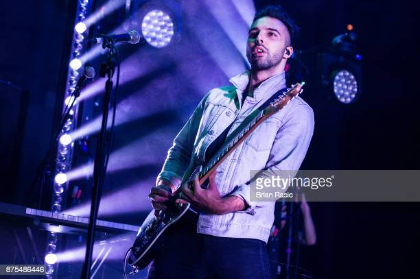 Dominic Craik of Nothing But Thieves performs at The Roundhouse on November 17 2017 in London England