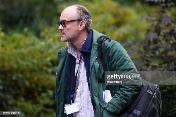 Dominic Cummings special adviser to UK Prime Minister Boris Johnson arrives in Downing Street in London UK on Thursday Sept 24 2020 UK Chancellor of...