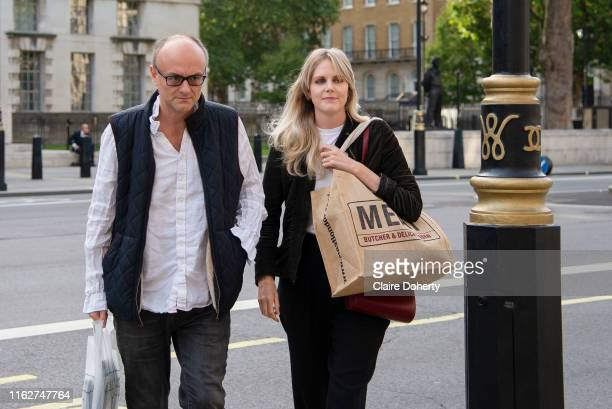 Dominic Cummings Special Advisor to the Prime Minister arrives at the Cabinet Office in Whitehall London United Kingdom on 19th August 2019