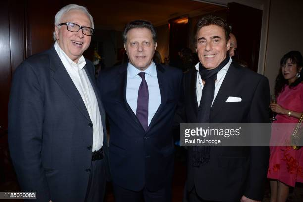 Dominic D'Alleva Stuart Sundland and Arnie Rosenshein attend Martin And Jean Shafiroff's Thanksgiving Cocktails In Honor Of Mission Society Of NYC on...