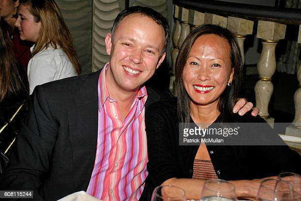Dominic DeVetta and Adora Chew attend DEBORAH ROBERTS Hosts WOMEN IN NEED Honoring STEVE SADOVE at The Pierre Hotel on April 17 2007 in New York City