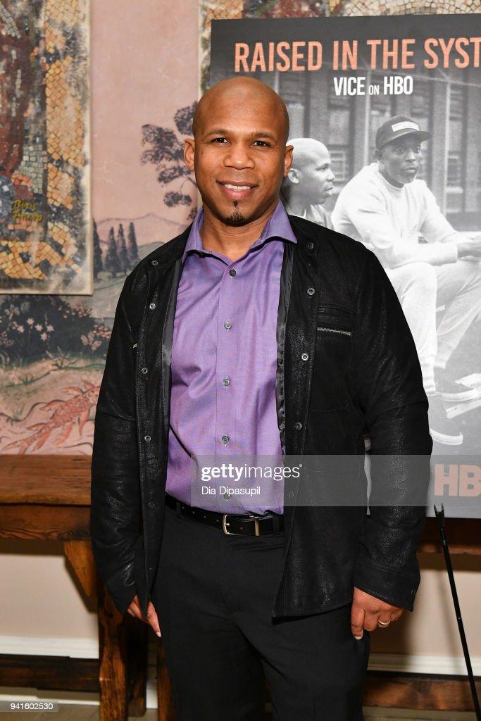 Dominic Dupont attends the 'Vice' Season 6 Premiere at the Whitby Hotel on April 3, 2018 in New York City.