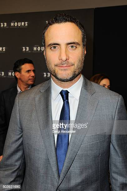 Dominic Fumusa attends Miami Special Screening of '13 Hours The Secret Soldiers of Benghazi ' at Aventura Mall on January 7 2016 in Miami Florida