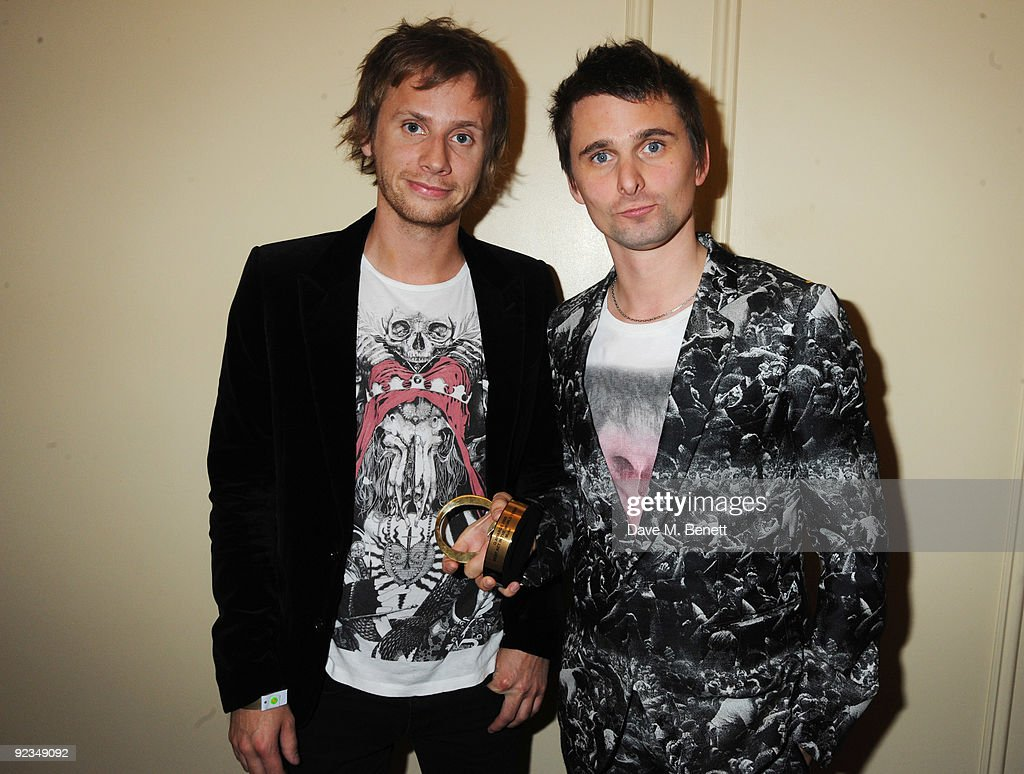 The Q Awards 2009 - Press Room