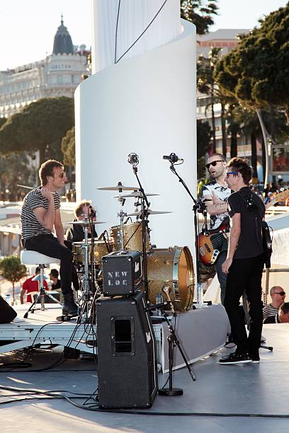 FRA: Muse Perform At Le Grand Journal - The 66th Annual Cannes Film Festival