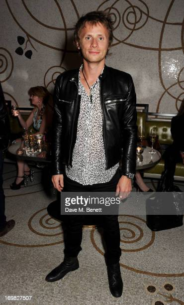 Dominic Howard of Muse attends an after party following the World Premiere of 'World War Z' at Massimo Restaurant Oyster Bar on June 2 2013 in London...
