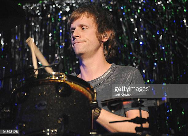 Dominic Howard of Muse performs at KROQ's Almost Acoustic Christmas 2009 Day 2 on December 13 2009 in Universal City California