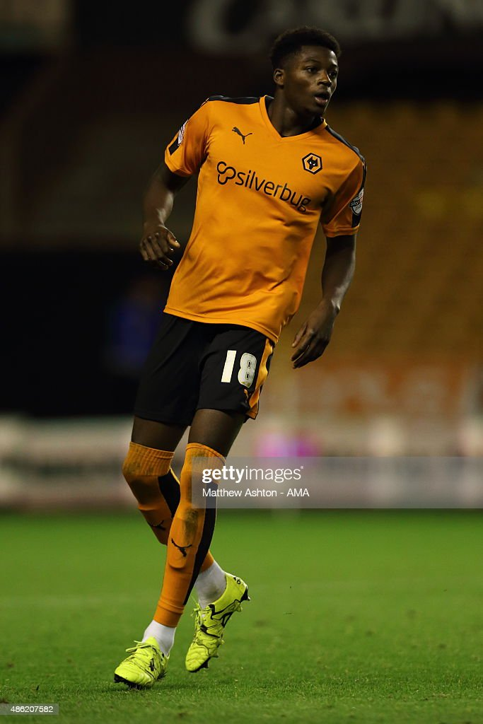 Dominic Iorfa of Wolverhampton Wanderers during the Capital One Cup match between Wolverhampton Wanderers and Barnet at Molineux on August 25, 2015 in Wolverhampton, England.