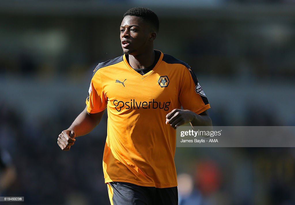 Dominic Iorfa of Wolverhampton Wanderers during the Sky Bet Championship match between Wolverhampton Wanderers and Birmingham City on March 13, 2016 in Wolverhampton, United Kingdom.