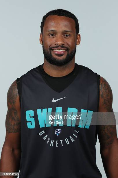 Dominic James of the Greensboro Swarm poses for a head shot during media day in Greensboro North Carolina NOTE TO USER User expressly acknowledges...