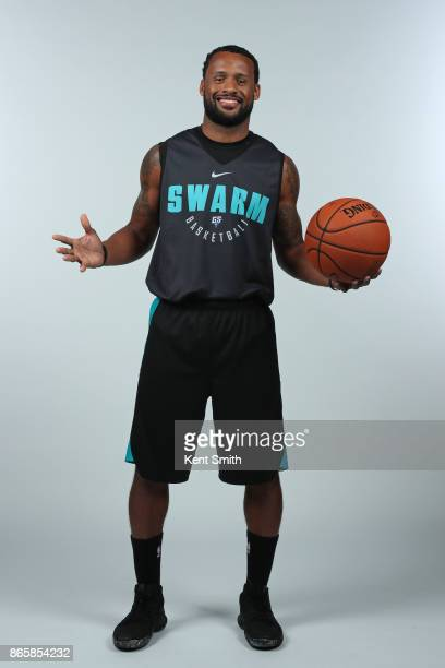 Dominic James of the Greensboro Swarm poses for a portrait during media day in Greensboro North Carolina NOTE TO USER User expressly acknowledges and...