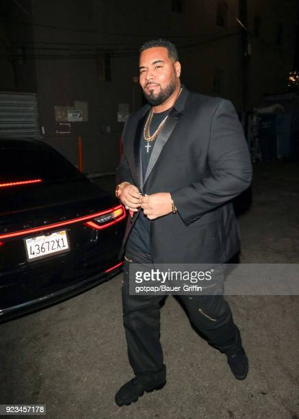 Dominic L Santana is seen on February 22 2018 in Los Angeles California