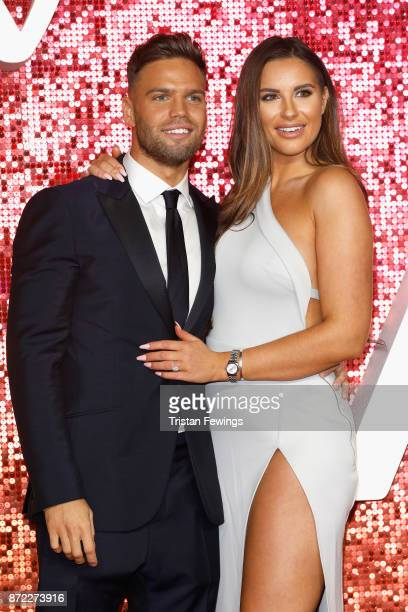 Dominic Lever and Jessica Shears arriving at the ITV Gala held at the London Palladium on November 9 2017 in London England