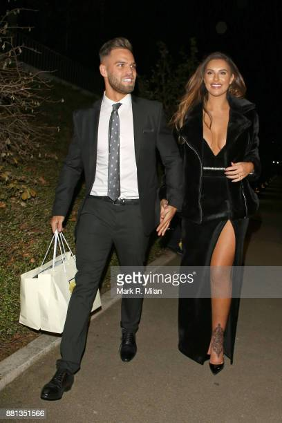 Dominic Lever and Jessica Shears attending the The OK Beauty Awards on November 28 2017 in London England