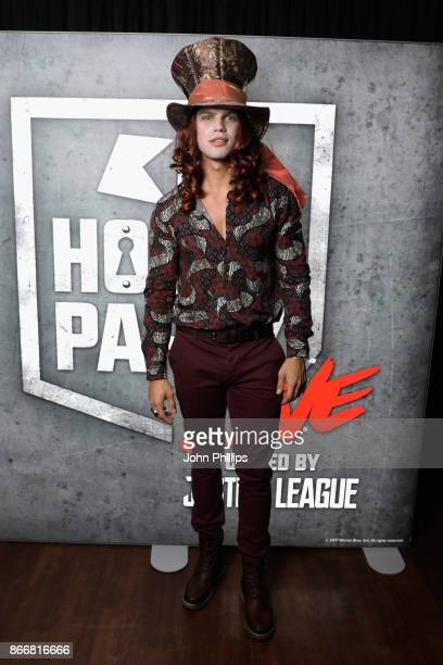 Dominic Lever attends the Kiss Haunted House Party held at SSE Arena on October 26 2017 in London England