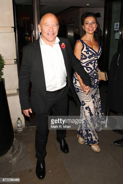 Dominic Littlewood attending the ITV Gala afterparty at Aqua on November 9 2017 in London England