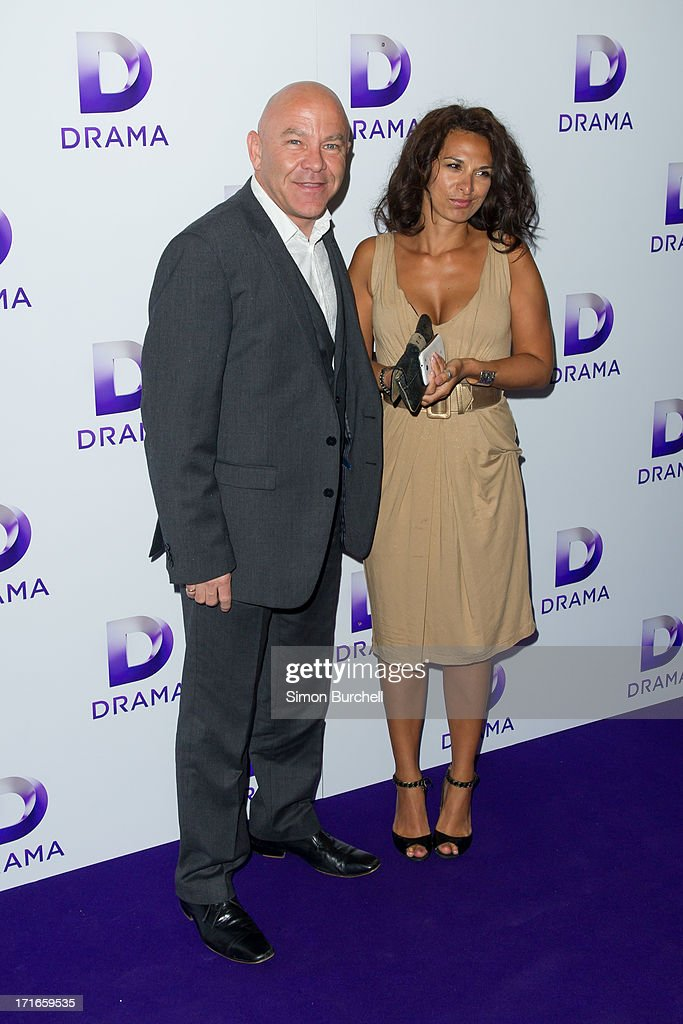 Dominic Littlewood attends the launch of the new UKTV channel 'Drama' on June 27, 2013 in London, England.
