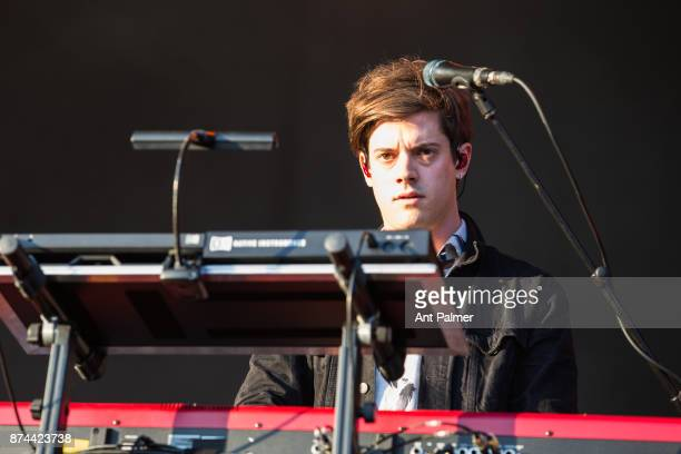 Dominic Major of British band London Grammar performs on stage at the Lollapalooza Festival on September 10 2017 in Berlin Germany