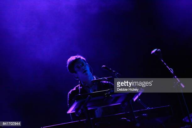 Dominic Major of London Grammar performs at Electric Picnic Festival at Stradbally Hall Estate on September 1 2017 in Laois Ireland