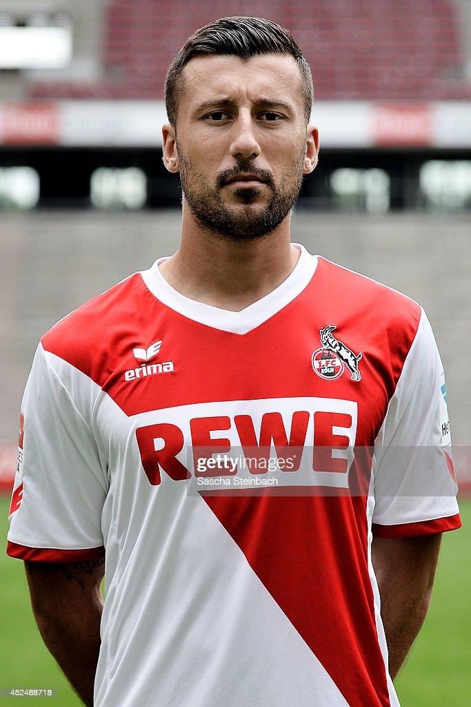 Dominic Maroh poses during 1. FC Koeln team presentation at RheinEnergieStadion on July 21, 2014 in Cologne, Germany.