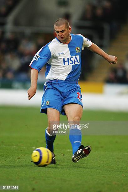 Dominic Matteo of Blackburn Rovers in action during the Barclays Premiership match between Crystal Palace and Blackburn Rovers at Selhurst Park on...