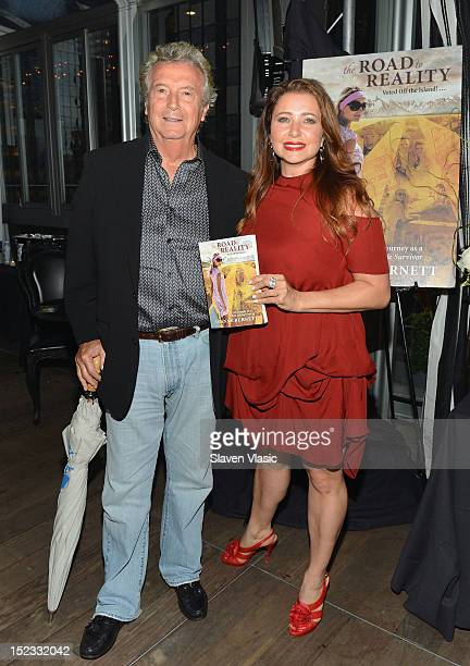 Dominic Minerva and producer Dianne Burnett attend Dianne Burnett's Road To Reality Book Launch Party at The Kimberly Hotel on September 18 2012 in...
