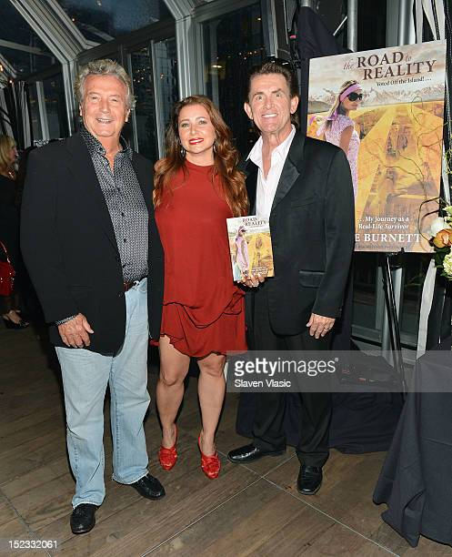 Dominic Minerva producer Dianne Burnett and publisher Stephen Powers attend Dianne Burnett's Road To Reality Book Launch Party at The Kimberly Hotel...