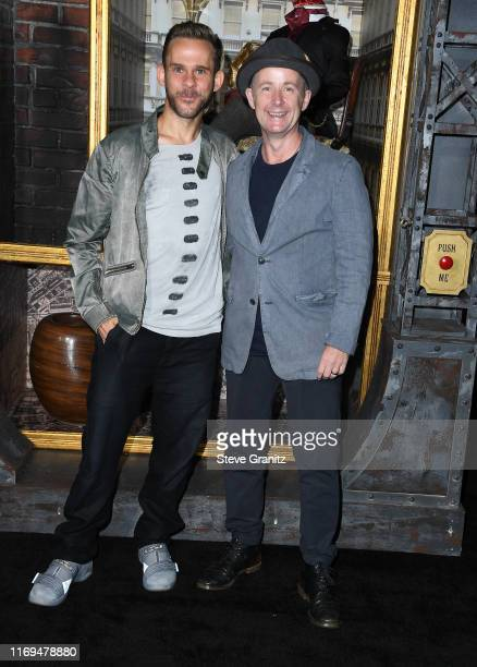 Dominic Monaghan and Billy Boyd attend the LA premiere of Amazon's Carnival Row at TCL Chinese Theatre on August 21 2019 in Hollywood California
